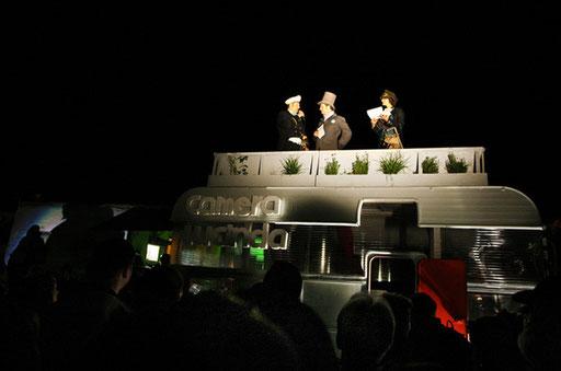 erste Nachnutzung TANKO, Farbfest Bauhaus 2011