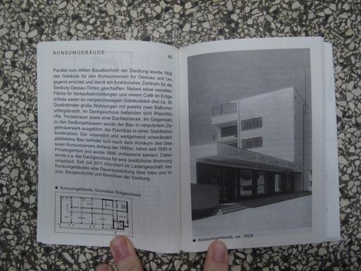 Bauhaus Taschenbuch 7: Die Siedlung Dessau Törten 1926 bis 1931; Texte Andreas Schwarting / Grafik: Hort, Berlin / Verlag: SPECTOR BOOKS / Herausgeber: Stiftung Bauhaus Dessau, 2012