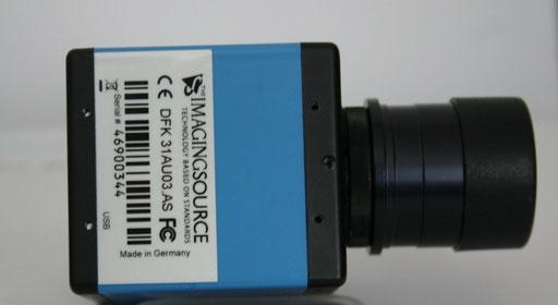 ccd DFK a colori e DMK 31 monocromatica