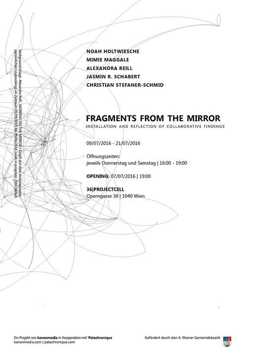 FRAGMENTS FROM THE MIRROR: noah holtwiesche, mimie maggale, alexandra reill, jasmin raphaela schabert, christian stefaner-schmid