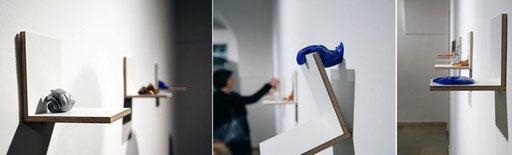 """Bild: Ausstellungsansicht """"passieren"""" OÖ Kunstverein, U-Hof im Kulturquartier, Linz"""