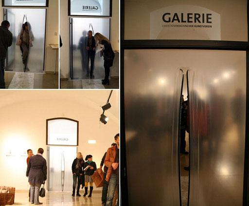 """Bild: Ausstellungseröffnung """"passieren"""" OÖ Kunstverein Linz"""