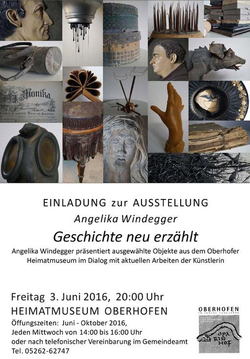 """Ausstellung """"Geschichte neu erzählen"""" Heimatmuseum in Oberhofen Tirol"""