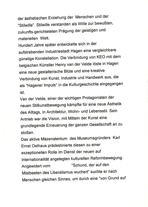 """50 Jahre """"Henry van de Velde- Gesellschaft 3"""