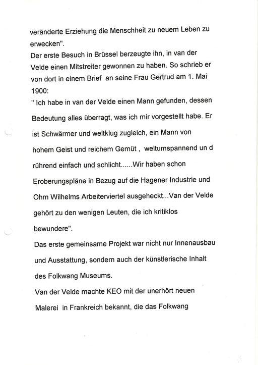 """50 Jahre """"Henry van de Velde- Gesellschaft 4"""