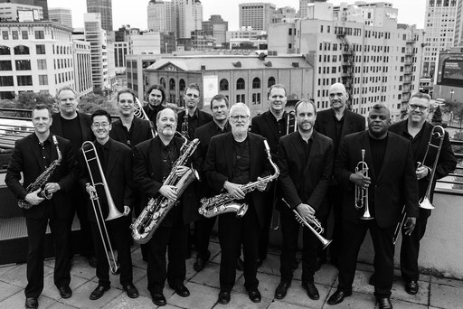 The Scott Gwinnell Jazz Orchestra in 2017