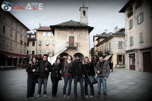 I Corsisti  ad  ORTA San Giulio