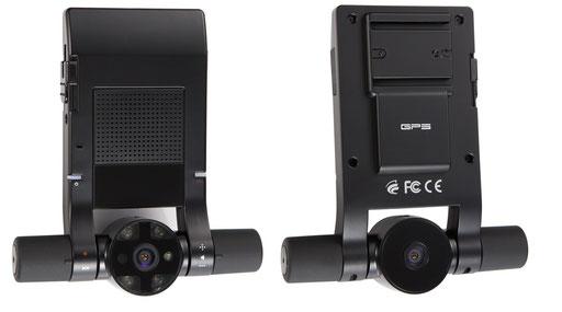 130万画素カメラ2台内蔵 ドライブレコーダー B1