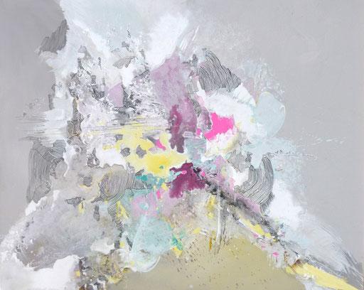 Splach 3. Acrylique sur toile 114cmx146cm