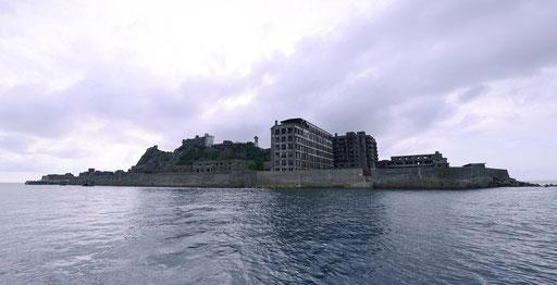 軍艦島(全景)