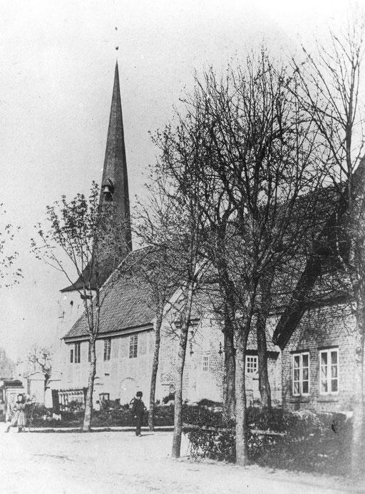 Alte Kirche aus der Zeit vor 1886