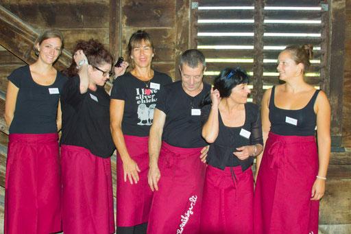 Das Team vom Chriesihögerli