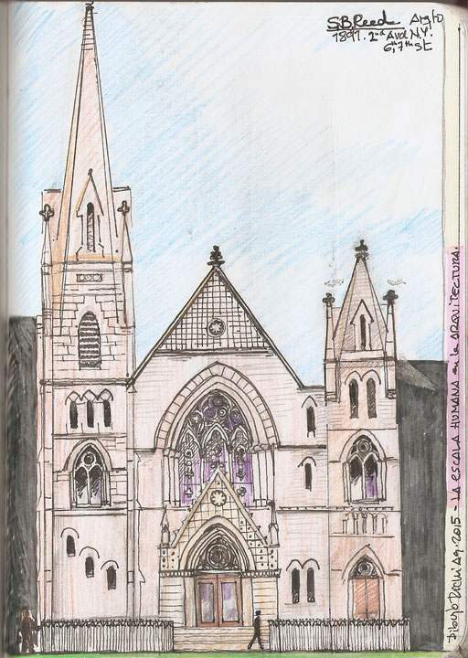 New Middle Colegiated Church. Arqto: S.B.Reed 1891