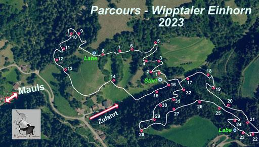 Bogenparcours Wipptaler Einhorn Mauls Südtirol