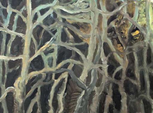 Unergründlich 4, 2014 Acryl auf Leinwand 60x80
