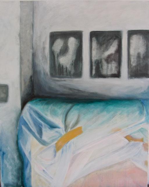 Karen 2, 2012 Acryl auf Leinwand 100x80