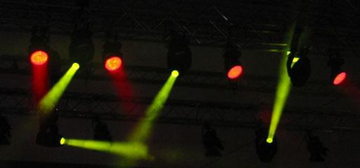 Bühnenbeleuchtung, Foto: Manuel Werner, alle Rechte vorbehalten!