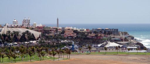 Maspalomas Blick auf Villa Del Conde