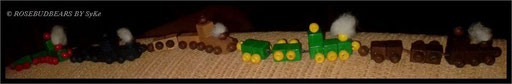 Eisenbahnen für die Puppen-äh-Bärenstube - garantiert ohne Streik