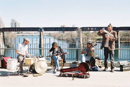 Chris Cogburn, Dafne Vicente Sandoval, Ralph White, Misha Marks, Austin Texas 2013