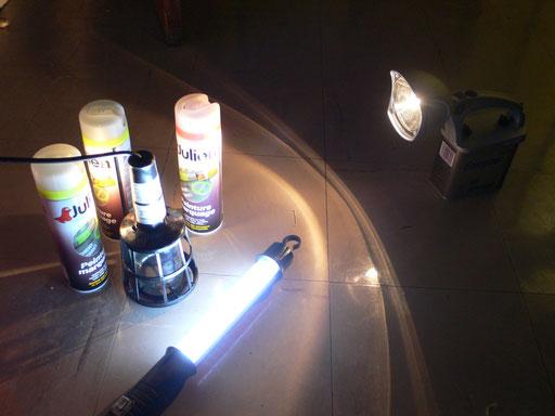 Eclairage et signalétique