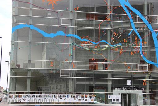 Installation Témoin - façade Kernéïs