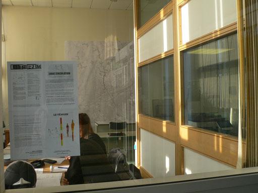 Entrée de la bibliothèque de sciences