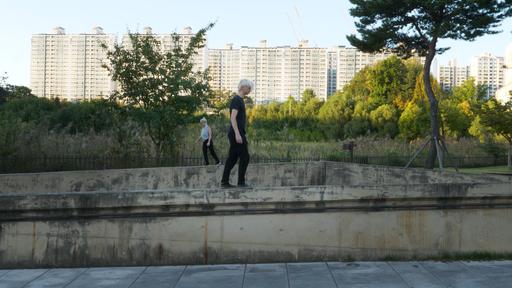 "Pfeifer & Kreutzer ""Walking through Gwangju"" 2019, Video Still"