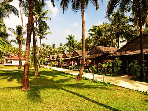 Strandbungalow in Ngwe-Saung