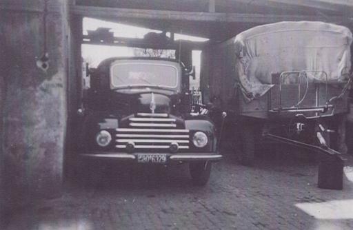 Einer der ersten LKW's Ford-Herkules-Diesel im Jahr 1950