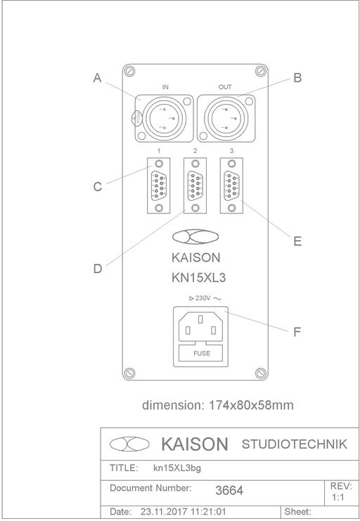 Power Supply KN15XL3
