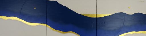 豊金雲山 1   1590mm*410mm   P10*3   2021 acrylic on canvas, wood