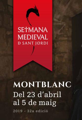 Cartel de la Setmana Medieval de Montblanc 2016