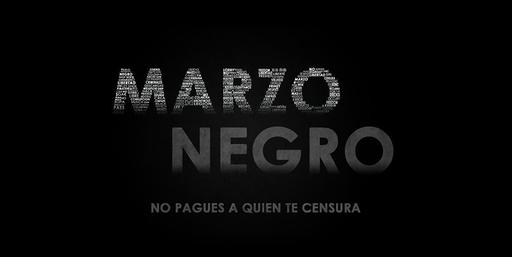 Operación Marzo Negro, No pagues a quien te censura
