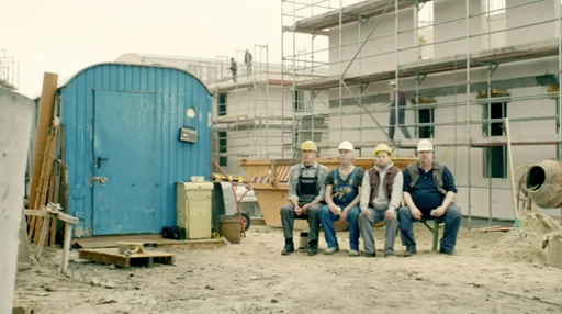 "Commercial: VW Up ""Baustelle"" / Director: Daniel Lwowski / Production: Nerd Communications GmbH / Year: 2012"