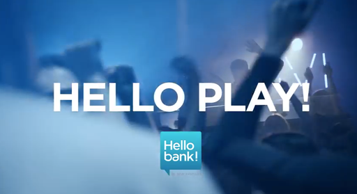 "Commercial: Hello Bank ""Hello Play"" / Director: Tom Schlagkamp / Production: Katapult Filmproduktion GmbH / Year: 2014"