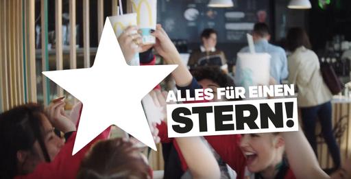 """Commercial: McDonalds """"Alles Für einen Stern""""  / Director: Sergej Moya / Production: Tempomedia Filmproduktion GmbH / Year: 2018"""
