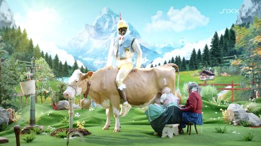 """Commercial: Sixx """"Drück Dich Glücklich"""" / Director: Michael Amann / Production: Greenskyfilms GmbH / Year: 2013"""