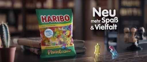 "Commercial: Haribo ""Phantasia""  / Director: Max Millies / Production: Mutter&Vater Filmproduktion / Year: 2019"