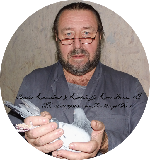 Bruder Kannibaal & Kerkduifje von KEES BOSUA NL 04-2097888