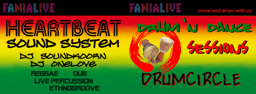 REGGAE - WORLDGROOVE - DUB - LIVE PERCUSSION