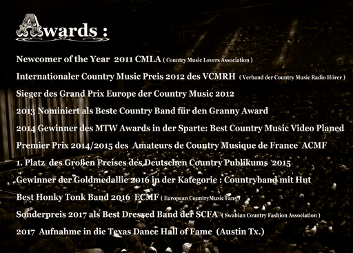Awards Texadillos