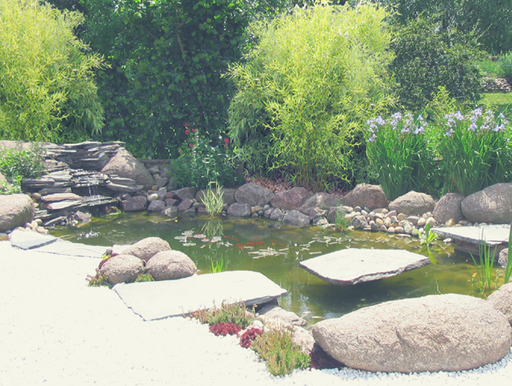 inspiration jardin zen, jardin japonais