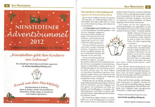 Gemeindebrief Ev.-Luth. Kirchengemeinden Nienstedten/Bugenhagen-Groß Flottbek - Dez. 2012