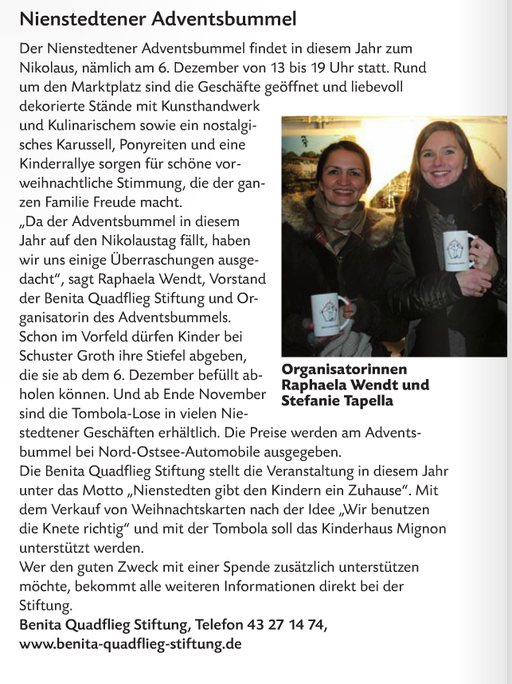 Klönschnack November 2014