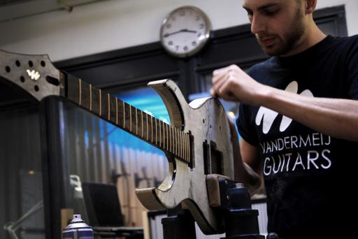 koen van der meij vandermeij guitars luthier guitarmaker luthiery netherlands holland nederland gitaarbouwer