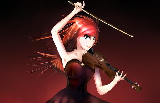 "Anime ""Lindsey Stirling"". By Daniel Schlenk"