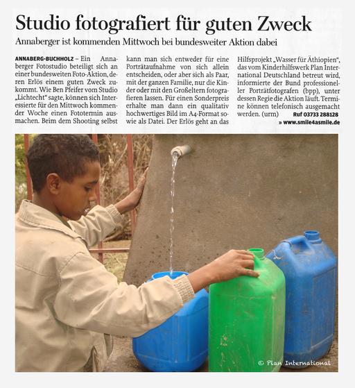 bpp, Chairtity Aktion, Wasser für Äthiopien,