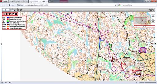 GPS 4. Strecke