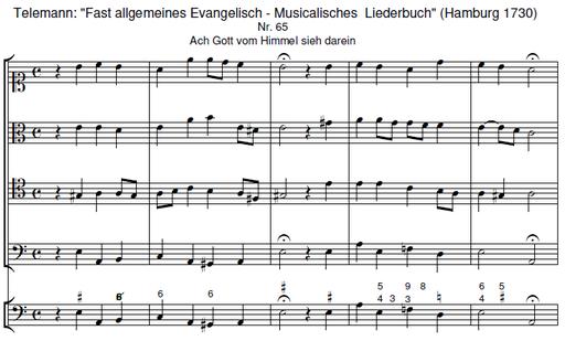 Telemann: Fast allgemeines Evangelisch - Musicalisches Liederbuch
